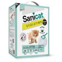 Sanicat - Litière Agglomérante Evolution pour Chaton - 6L