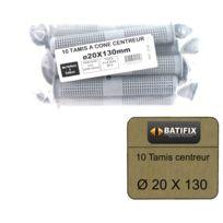 BATIFIX - Pack de 10 Tamis à cone centreur diamètre 20 x 130mm