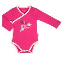 Body croisé bébé fille manches longues Petit Poisson - Couleur - Rose 25f4c982793