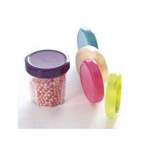 Verrine mini pot de confiture et couvercle noir 5 cl par 20 pas cher achat vente vaisselle - Pot de confiture vide pas cher ...