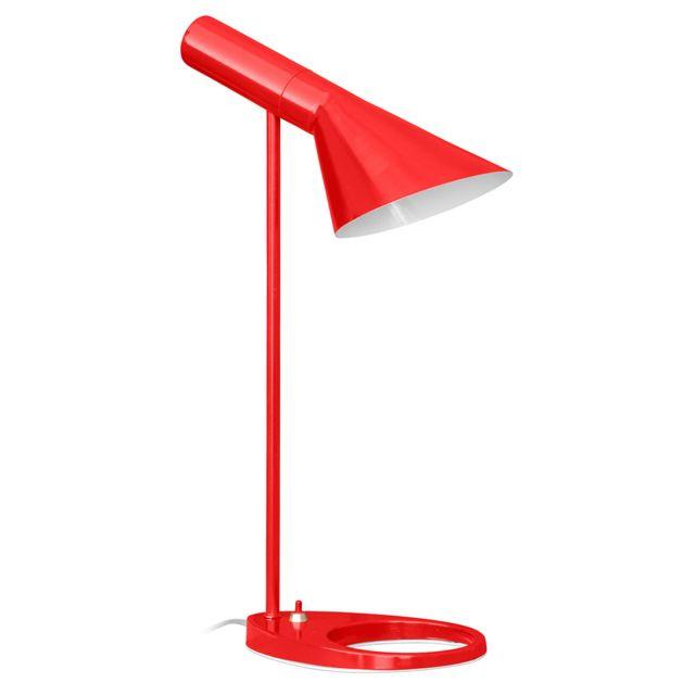 Privatefloor Lampe de bureau Aj Arne Jacobsen acier