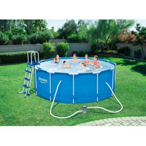 Bestway piscine tubulaire pro x m pas cher for Piscine tubulaire 1 22