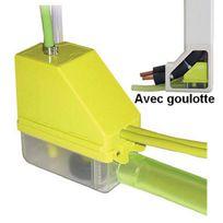 Aspen - Pompe de relevage Mini Verte avec goulotte