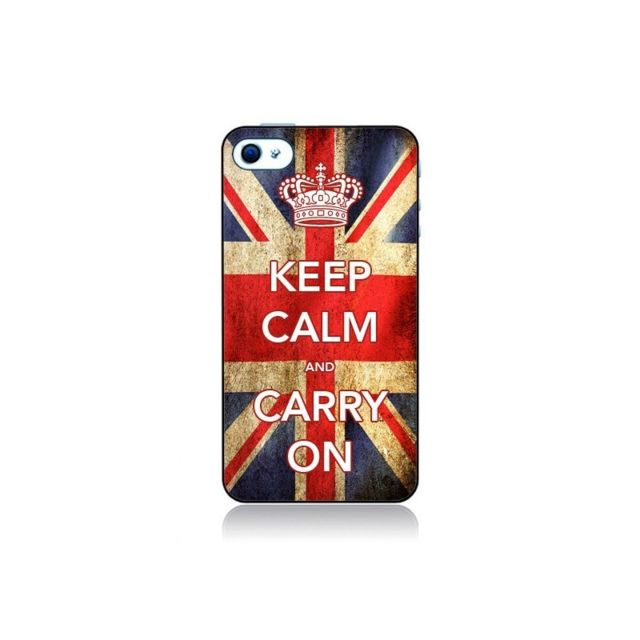coque iphone 4 et 4s keep calm and carry on nico
