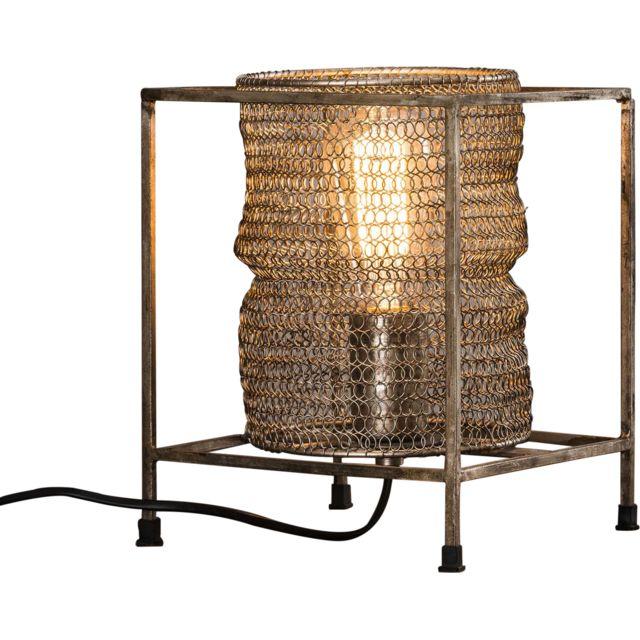 De C X Gardner Maille Collection Carrée PH25 Antique L20 Lampe Cm En Nickel Table kPZiuOX
