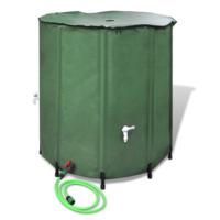 Rocambolesk - Superbe Récupérateur d'eau pluviale pliable 500L Neuf