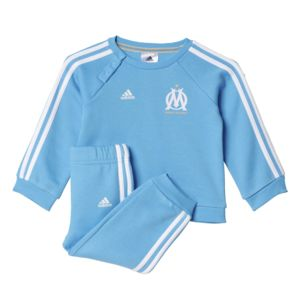 adidas performance marseille ensemble surv tement olympique de marseille b b pas cher achat. Black Bedroom Furniture Sets. Home Design Ideas