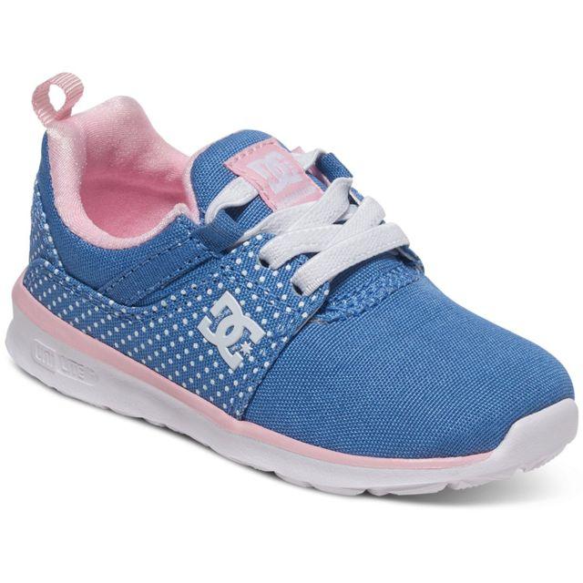 Dc - Shoes Heathrow T Chaussure Bébé Fille - Taille 20.5 - Bleu ... 9889293fec19