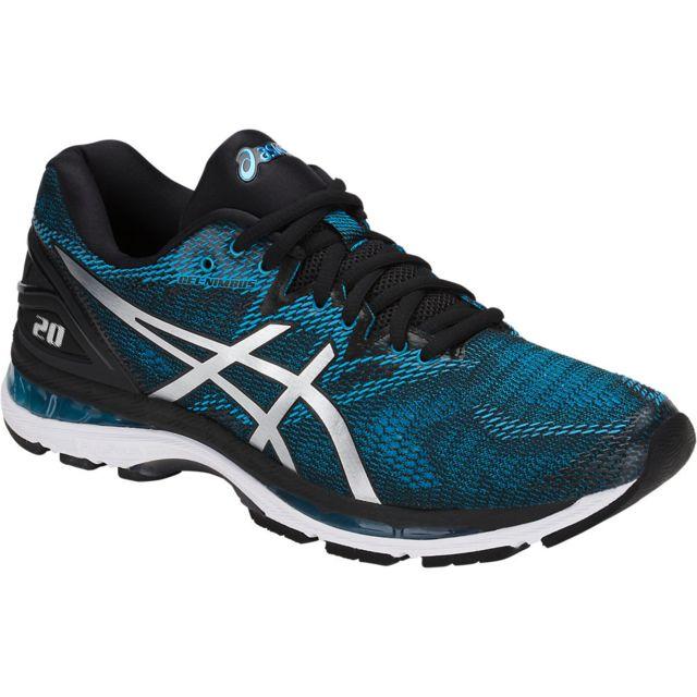fde2a88a81e80 Asics - Gel Nimbus 20 Blue Island chaussure running Bleu - 41 1 2 - pas  cher Achat   Vente Chaussures running - RueDuCommerce