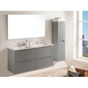 marque generique ensemble selita meubles de salle de bain avec double vasque et miroir. Black Bedroom Furniture Sets. Home Design Ideas