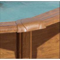 Gré - Gre Pools - Kit piscine ronde en acier Pacific Diam. 4,60mx1,20m