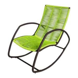 carrefour rocking chair cordes de jardin soho acier galvanis vert pas cher achat. Black Bedroom Furniture Sets. Home Design Ideas