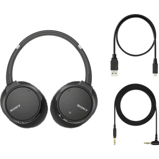 Sony Casque Arceau Bluetooth Whch700nbce7 Noir Pas Cher Au