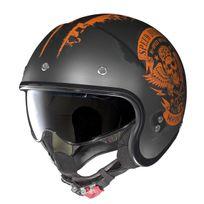 Nolan - Casque N21 Speed Junkies Noir Mat Orange 50