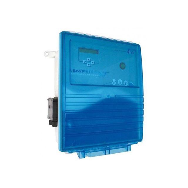 Ccei electrolyseur de sel limpido xc lab 160 r gulateur ph pour piscine de 40 160 m3 - Electrolyseur de sel pour piscine ...