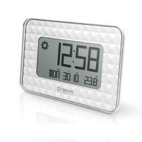 Oregon Scientific - horloge murale avec prévisions météo blanc - jw208 blanc