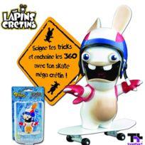 Abysscorp - Mini Skateboard : Lapins Crétins