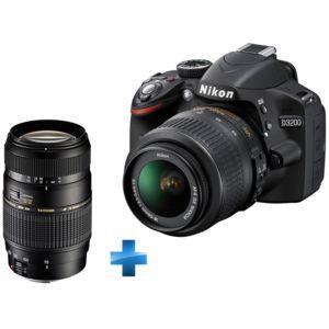 Pack reflex nikon d3200 18 55 mm vrii tamron 70 300mm - Appareil photo nikon d3200 pas cher ...