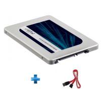 "CRUCIAL - 2050 Go ® MX300 SATA 2.5"" 7mm with 9.5mm adapter, SSD + Cable SATA mâle / SATA mâle, 0m45"