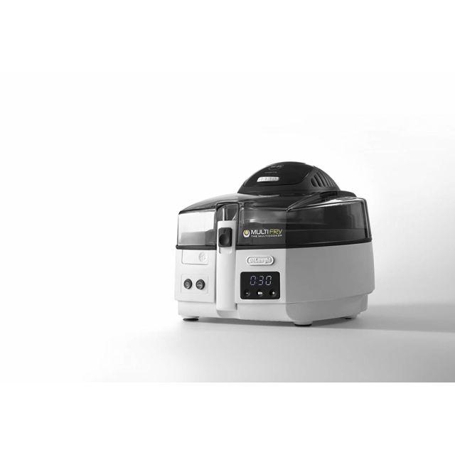Delonghi friteuse électrique de 1,5kg avec thermostat ajustable 1600W blanc noir