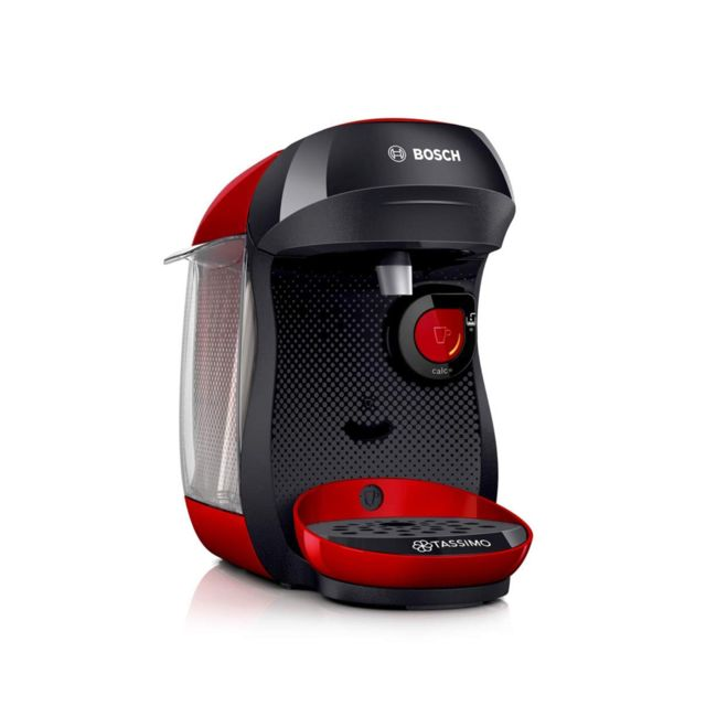 Bosch TASSIMO HAPPY TAS1003 MACHINE A BOISSONS CHAUDES ROUGE ET NOIR
