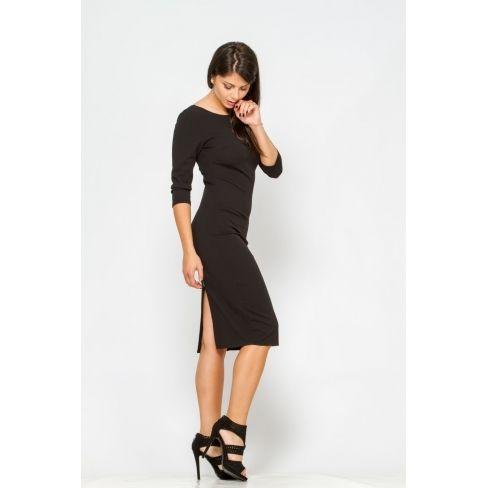 dcb6968117bda Princesse Boutique - Robe coupe droite noire - pas cher Achat ...