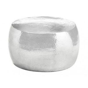 insideart table basse scintillante aluminium argent. Black Bedroom Furniture Sets. Home Design Ideas