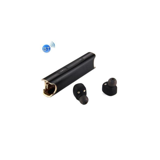 Auto-hightech Ecouteur de musique stéréo intra-auriculaire Sans Fil Bluetooth V4.2 Avec la fonction de deux connexions, prise en charg
