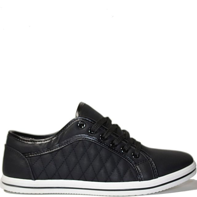No Brand Baskets basse casual noir modele Zachbaskets