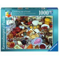 Tmtoys - Puzzle 1000 pièces : Cuisine en fête