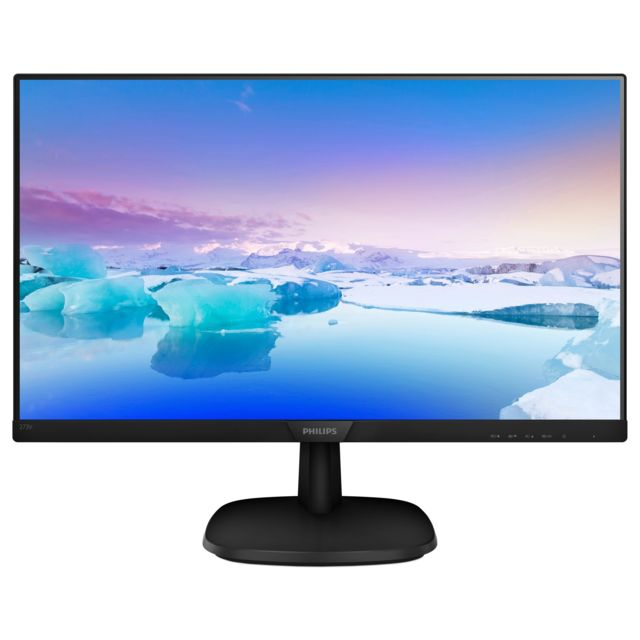 PHILIPS Moniteur PC - 273V7QDAB/00 - Noir