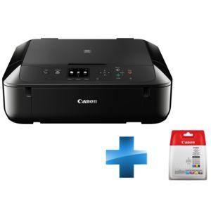 canon pack imprimante pixma mg5750 cartouche d 39 encre cli 571 c m y bk multi bl w o sec pas. Black Bedroom Furniture Sets. Home Design Ideas