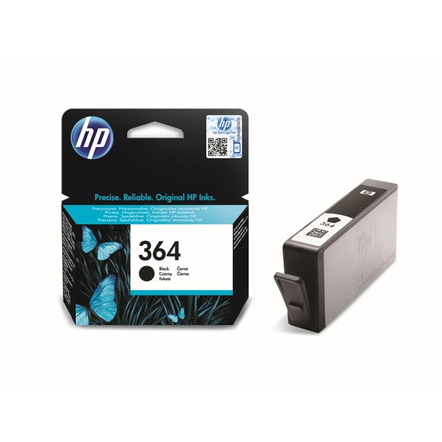 HP CB316EE - Cartouche d'encre 364 Noir