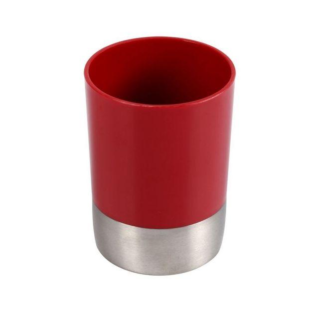 jja gobelet salle de bain rouge pas cher achat vente meubles de salle de bain rueducommerce. Black Bedroom Furniture Sets. Home Design Ideas