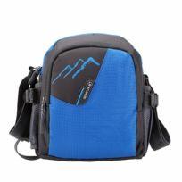 f70a71b38e Wewoo - Sac porté épaule à bandoulière simple en nylon pour plein air bleu