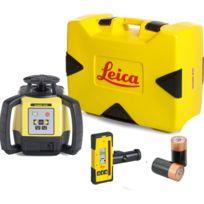 LEICA - Laser Rugby 640 avec coffret version pile et cellule de réception Rod Eye 160- 6005989