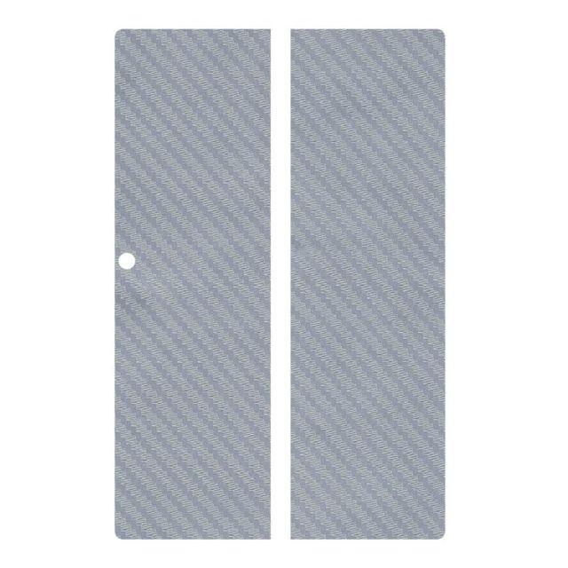 Sticker autocollant aspect alu brossé 3D skin pour Ipad Air