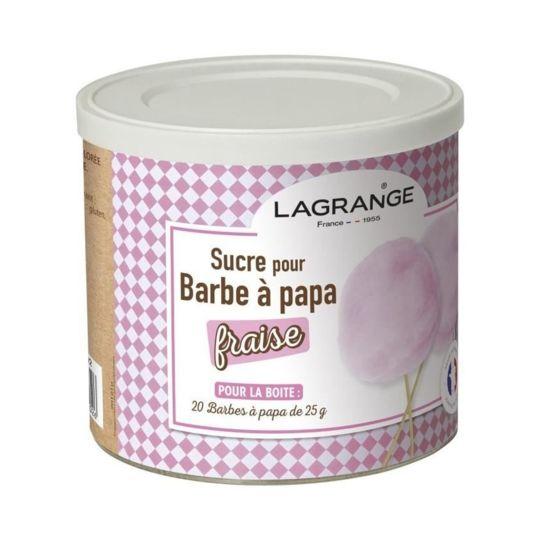 Sucre Pour Barbe à Papa à La Fraise 380007 à Prix Carrefour