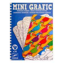 Djeco - Mini Grafic : Coloriages animaux