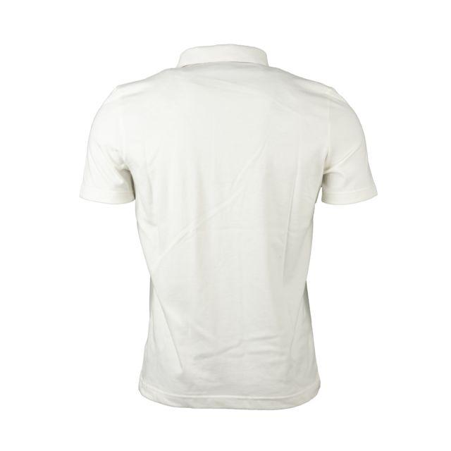 LE COQ SPORTIF Polo en coton blanc brodé