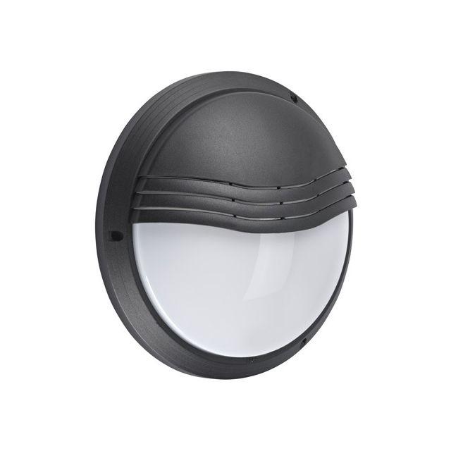 Aric Hublot décoratif extérieur rond diamètre 270 mm 270tp noir