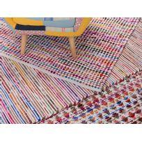 Beliani - Tapis rectangulaire en coton - Tapis multicolore 80x150 cm - bariolé clair - Bartin