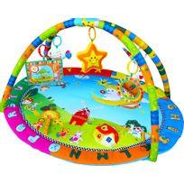 Sun Baby - Tapis d'éveil avec jouets et miroir bébé 0+ Jardin | Multicolore