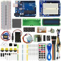 VIEW TEK - ViewTek KT0001 - Kit de démarrage avancé pour Arduino - avec carte UNO R3 & servomoteur - Advanced Starter Kit for Arduino