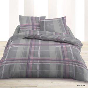 dourev housse de couette boligna 220x240 2 taies pas cher achat vente housses de couette. Black Bedroom Furniture Sets. Home Design Ideas