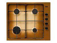 Faure table de cuisson gaz 60cm 4 feux terre fgg62414ta - Table de cuisson gaz 4 feux ...