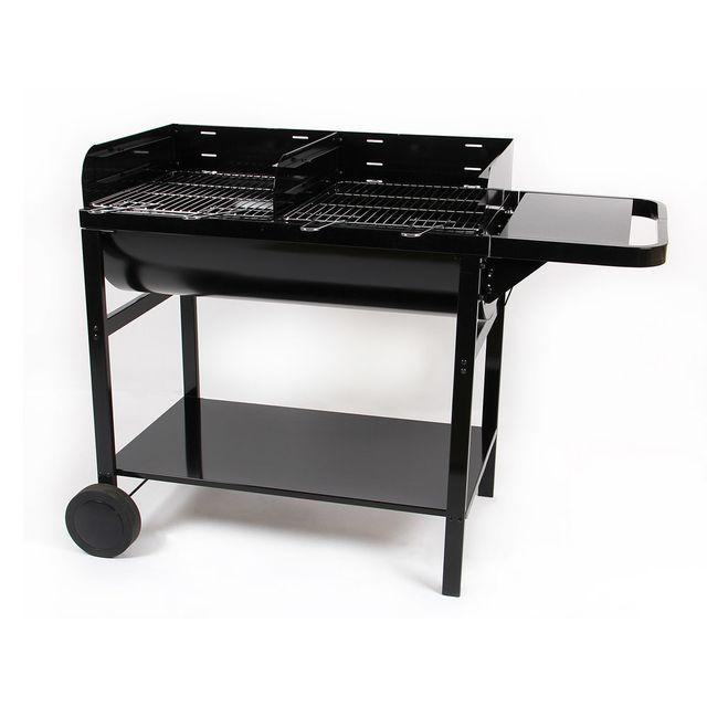 barbecue charbon bois cuve fonte - achat barbecue charbon bois