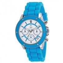 NAFNAF - Montre Naf Naf Régate Bleu clair - N10049-216 - cadeau idéal