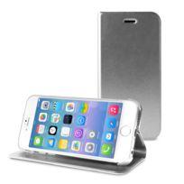 Puro - étui livre gris avec porte carte pour Apple iPhone 6 et 6S