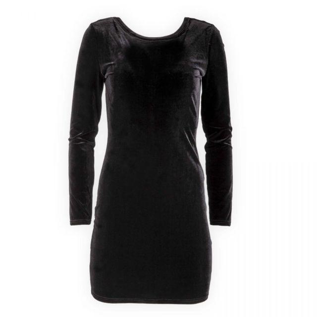 Best Moulante En Pas Mountain Femme Robe Cher Noire Velours vmON80nw